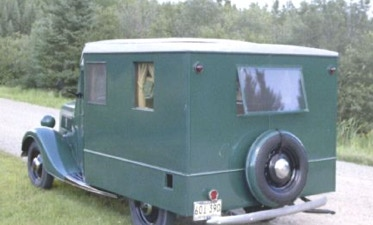 The First Small Motorhome